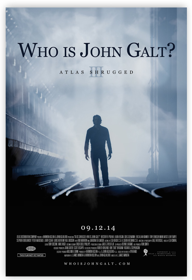 Atlas Shrugged Part 3 poster
